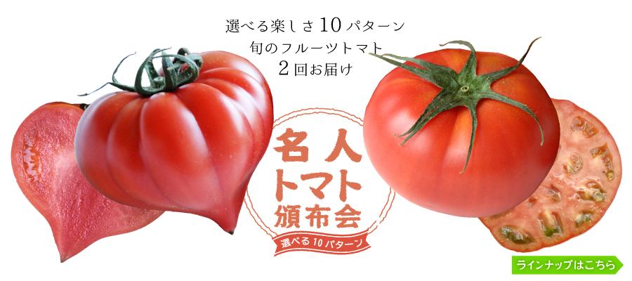 トップバナートマト頒布会